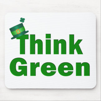 Think Green Mousepad