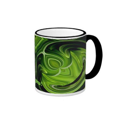 Think green! mugs