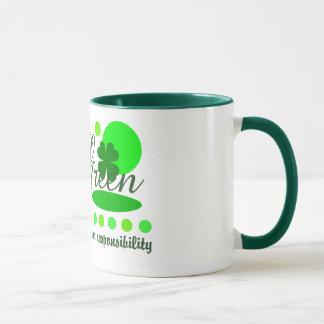 Think Green mug - choose style & color