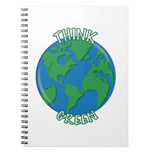 Think Green Note Book