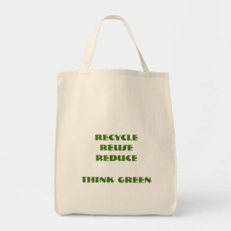 Think Green Organic Grocery Tote
