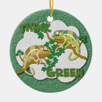 Think Green Ornament