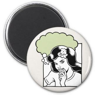 Think Green OTB 6 Cm Round Magnet