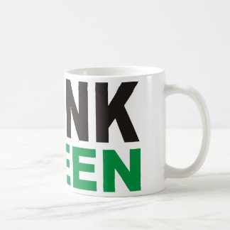 Think Green Products & Designs! Coffee Mug
