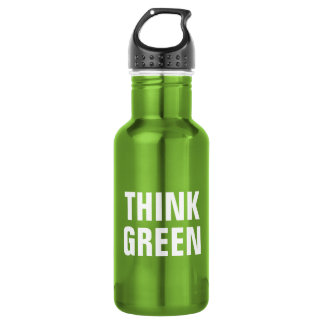 THINK GREEN Quotes 532 Ml Water Bottle