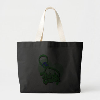 Think Green Ribbon Environment Tote Bag