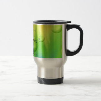 Think Green Stainless Steel Travel Mug