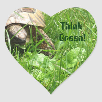 Think Green! Sticker