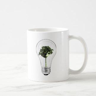 Think Green Think Smart Basic White Mug