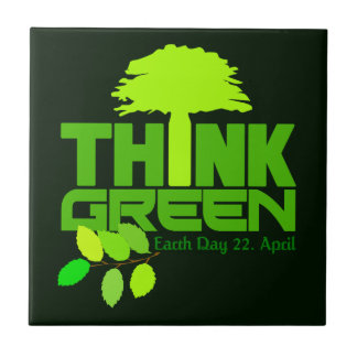 Think Green tile