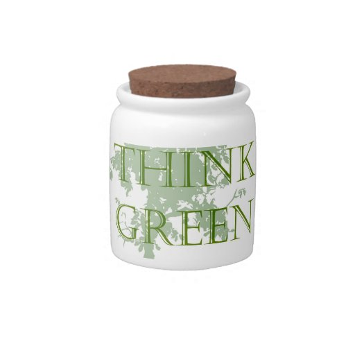 Think Green Tree Candy Jar