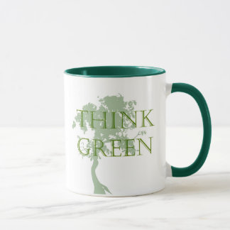 Think Green Tree Mug