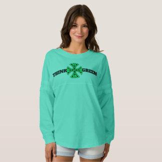 Think Green Women's Spirit Jersey Shirt
