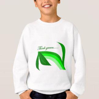 Think Green - Zen Recycle products Sweatshirt