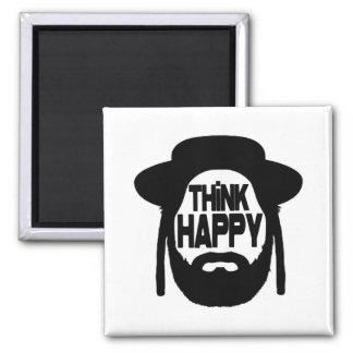 Think Happy Magnet