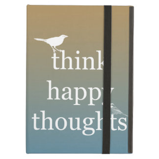 Think Happy Thoughts iPad Folio Case