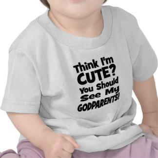 Think I m Cute Godparents T-shirt