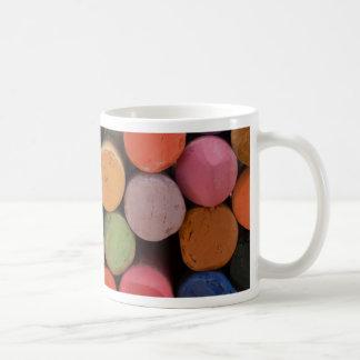 think in color coffee mug