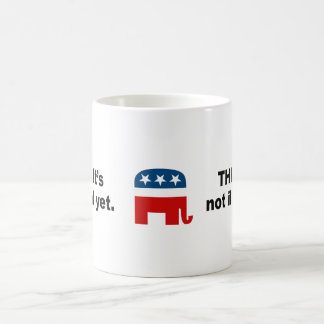Think. It's not illegal yet Coffee Mug