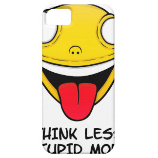 Think less, stupid more case for the iPhone 5