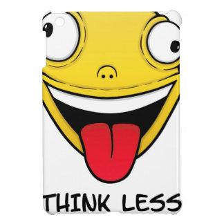 Think less, stupid more iPad mini case