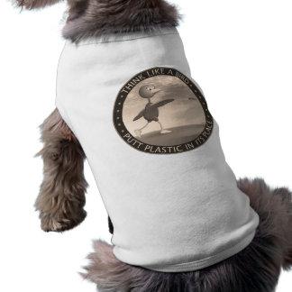 Think Like A Bird Sleeveless Dog Shirt