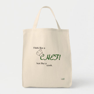"""Think Like a CHEF!"" Grocery Tote"