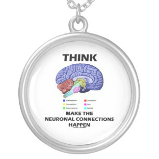 Think Make The Neuronal Connections Happen Necklaces