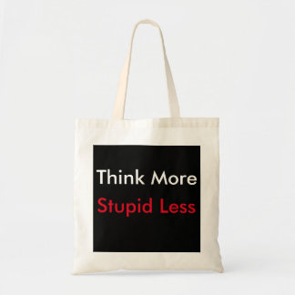 Think More budget tote