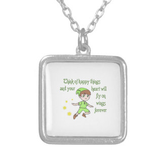 THINK OF HAPPY THINGS PENDANTS