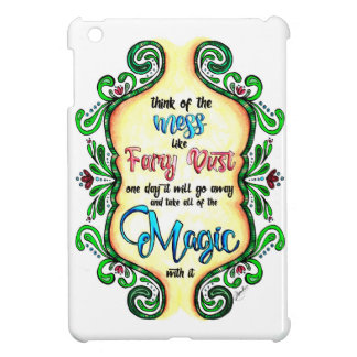 Think of the Mess - Inspiration for moms iPad Mini Cases