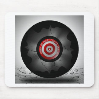 Think of what you are saying record mouse pad
