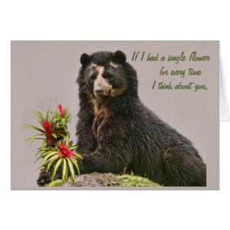 Think of you Bubu Card