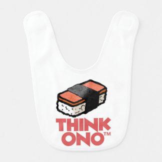 Think Ono #1 Hormel Spam Musubi Snack Bib