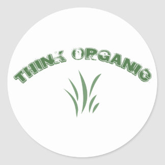 Think Organic Stickers