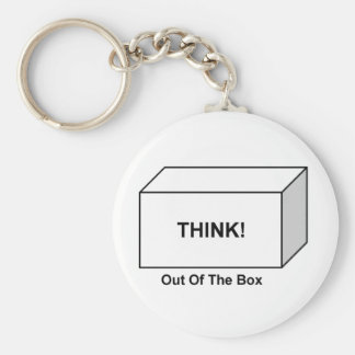 Think out of the Box Key Ring