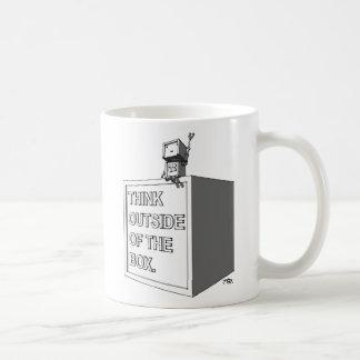 THINK OUTSIDE OF THE BOX Mug