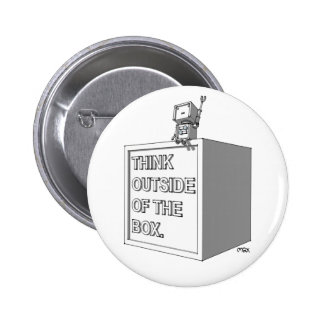 THINK OUTSIDE OF THE BOX Pin