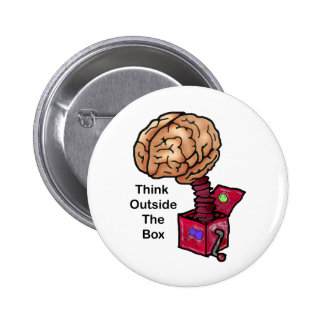 Think Outside the Box Pins