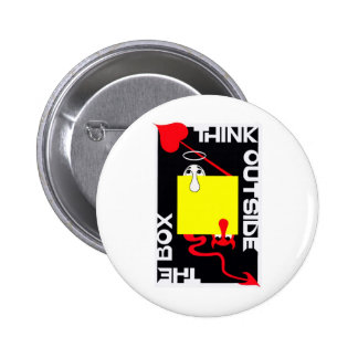 Think Outside the Box Pin