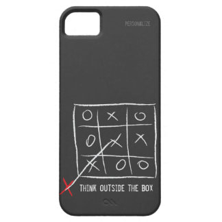 Think Outside the Box Barely There iPhone 5 Case