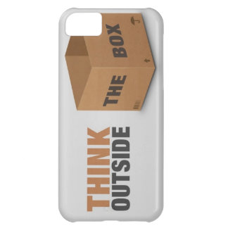 Think outside the Box Cover For iPhone 5C