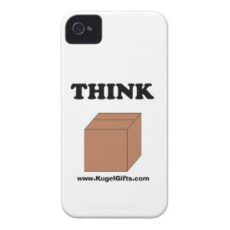 """Think Outside the Box"" Case-Mate ID 4/4S iPhone 4 Case"