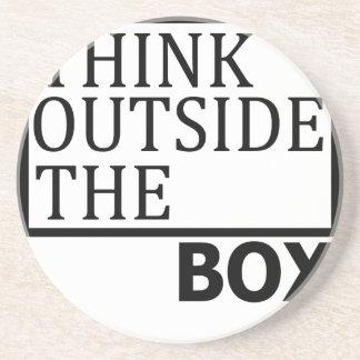 Think Outside The Box Coaster