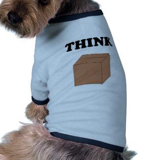 Think Outside the Box Dog T-shirt