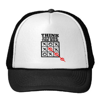 Think Outside The Box Trucker Hats