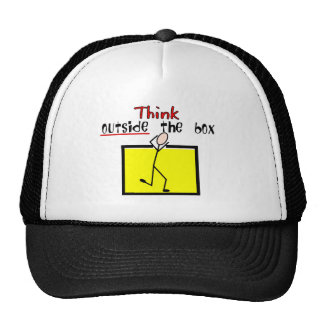 Think Outside the Box Trucker Hat