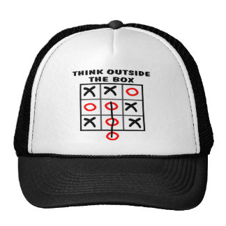 Think Outside The Box Mesh Hat