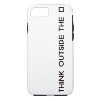 THINK OUTSIDE THE BOX iPhone 7 CASE