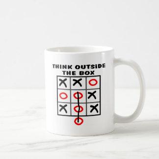 Think Outside The Box Coffee Mugs
